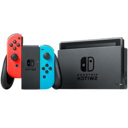Nintendo Switch Neon Red and Neon Blue Joy-Con Console