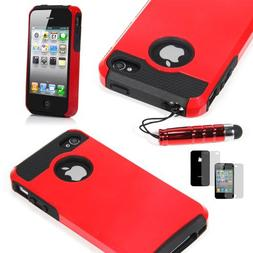 TCD for Apple iPhone 5 5S  Hybrid Rugged Protective Defender