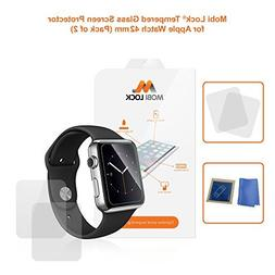 Mobi Lock Premium Apple Watch 42mm Tempered Glass | Perfect