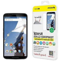 AMZER 8-9H TEMPERED GLASS HD SCREEN PROTECTOR FOR MOTOROLA N