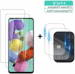 Tempered Glass Screen Protector+Camera Lens For Samsung Gala