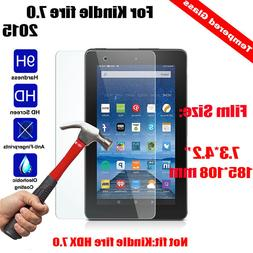 """Tempered Glass Screen Protector For Amazon Kindle fire 7"""" /"""