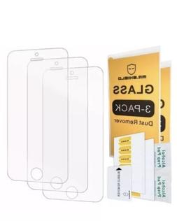 Tempered Glass Screen Protector - iPhone 5/5s/5c/se - 3 Pack