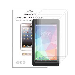 Transwon 4-Pack Screen Protector for SmarTab ST7150, Yuntab