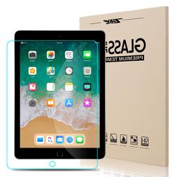 "For New iPad 6th Generation 9.7"" 2018 HD Clear Tempered Glas"