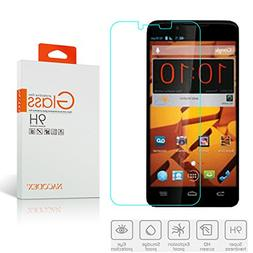 ZTE Boost Max N9520 Tempered Glass Screen Protectors , Nacod